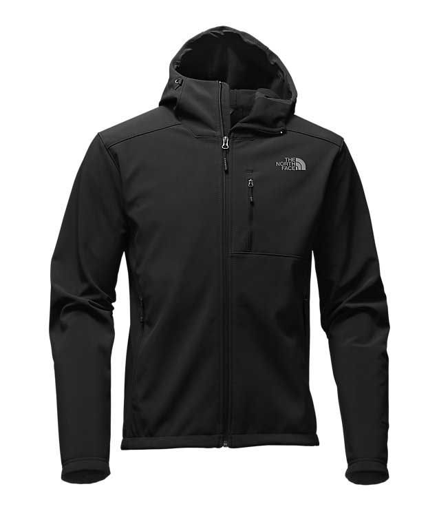 black north face sweatshirt