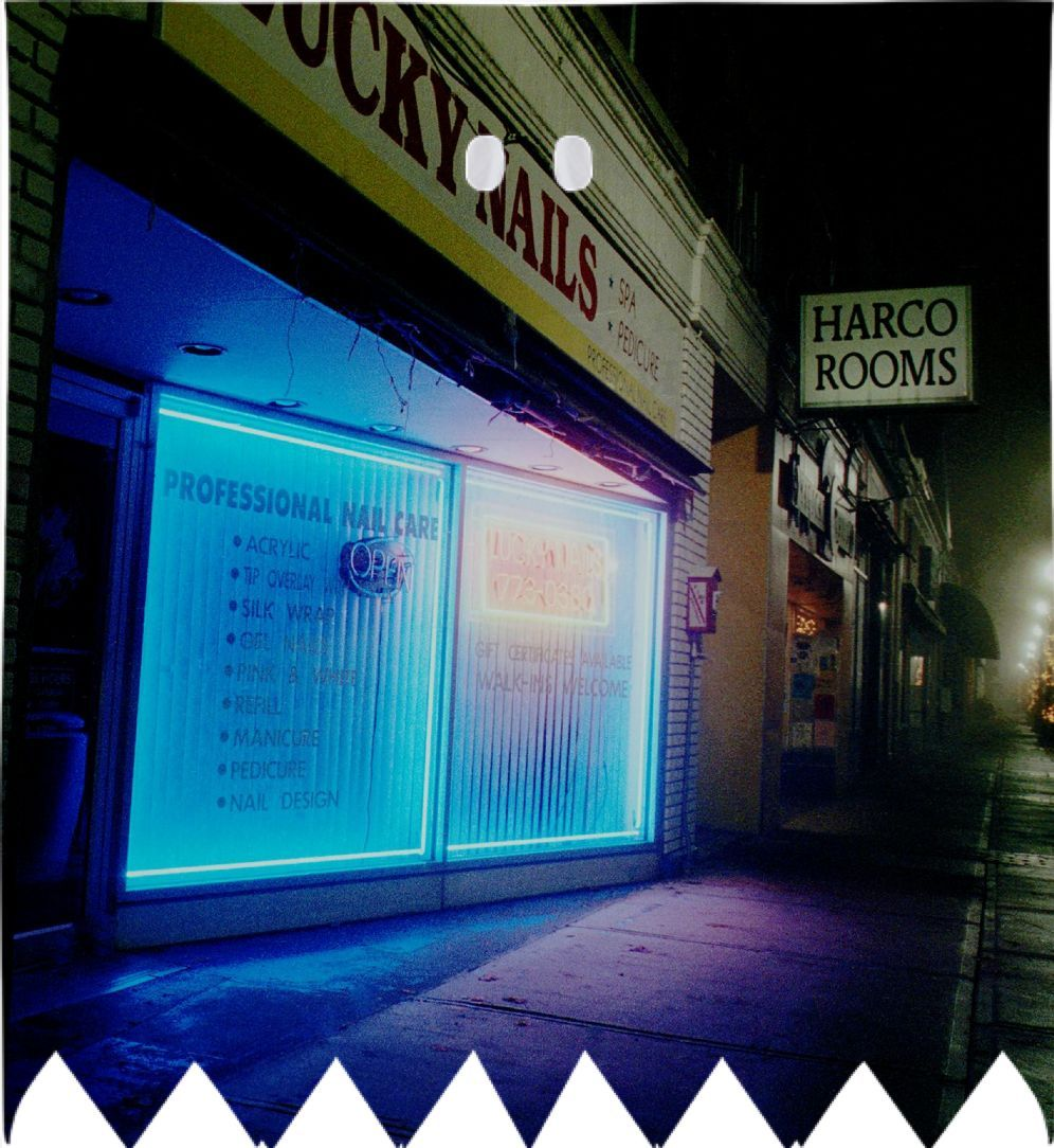 Lucky #Nails in #Greenfield, MA USA, #Night #Light Series #ghost ...