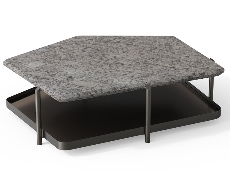 SKYLINE LOW T Coffee table By design Carlo