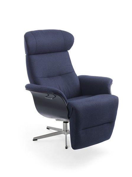 conform timeout relaxsessel mit integriertem fu teil in stoff sitzschale eiche schwarz. Black Bedroom Furniture Sets. Home Design Ideas