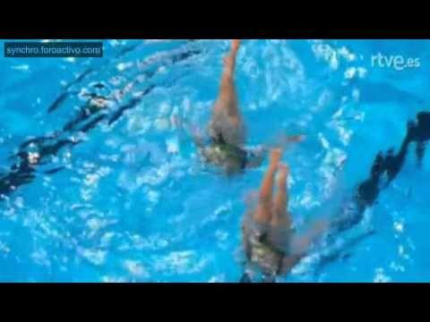 Iryna Limanouskaya/Iya Zhyshkevich BLR Technical Duet Preliminary Barcel...