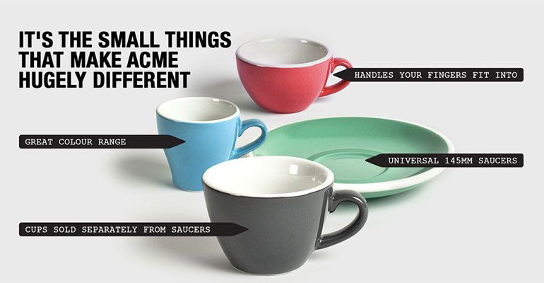 Acme Cups | Products I Love | Coffee cups, saucers, Ceramic