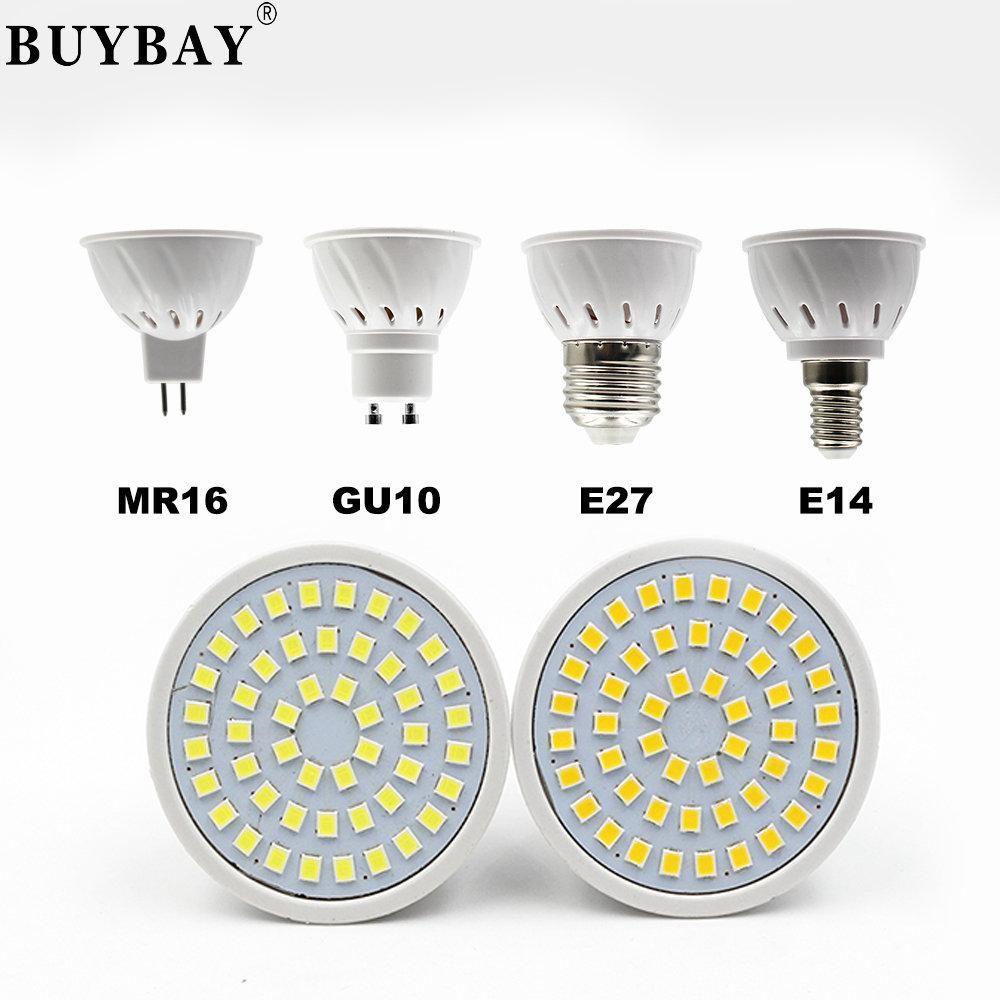 BUYBAY E27 E14 MR16 GU10 Lampada LED Bulb 110V 220V