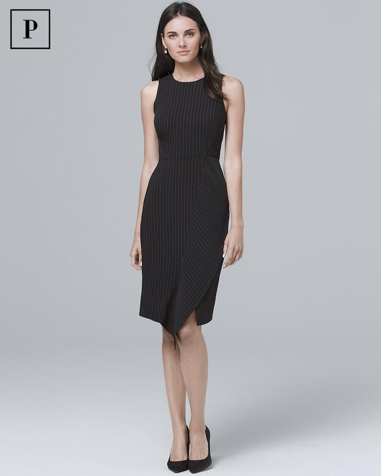 4805863e Women's Petite Pinstripe Sheath Dress by White House Black Market ...