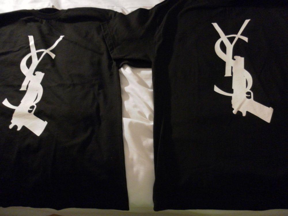 ysl gun shirt