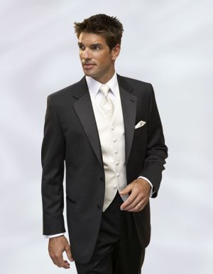 Grooms Tux But For My Wedding Change The Shirt To Black And Vest Tie Napkin Thing Red That Matches Dress