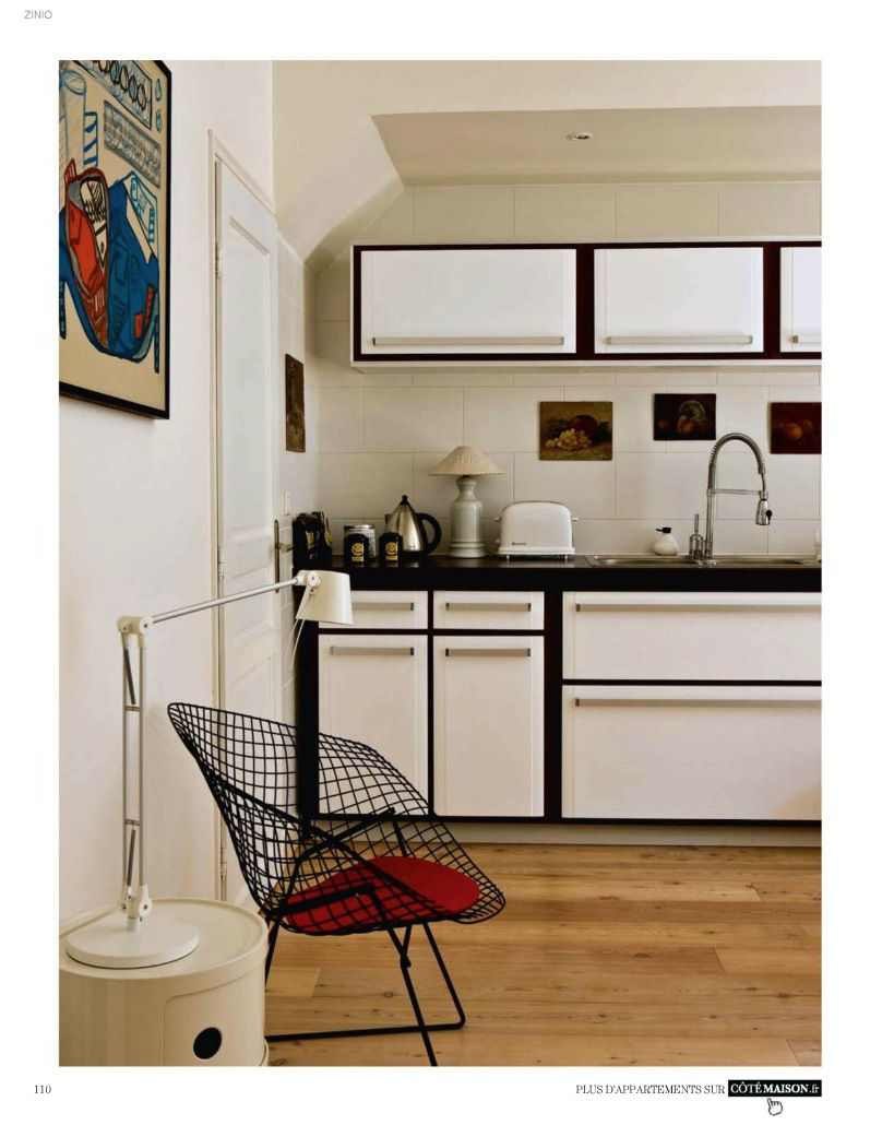 Mid Century Modern kitchen with retro cabinets