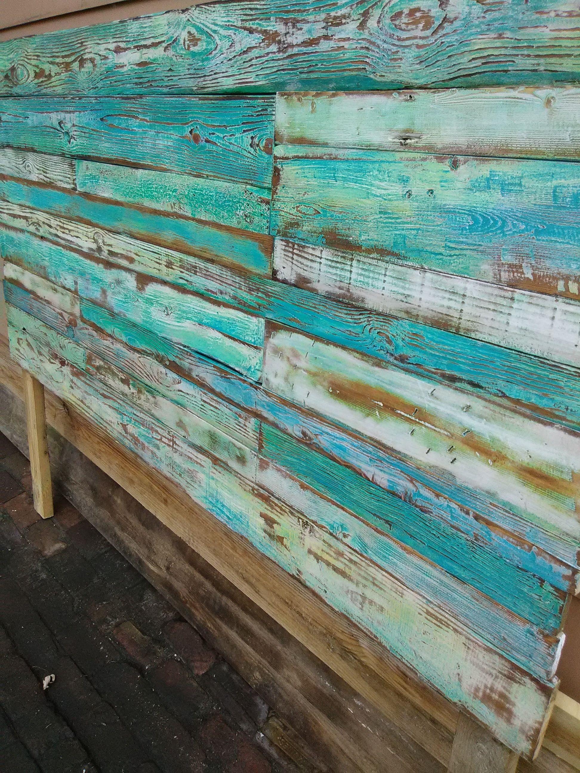 ReclaimedPalletTrend - Reclaimed Pallet Wood Headboard ...