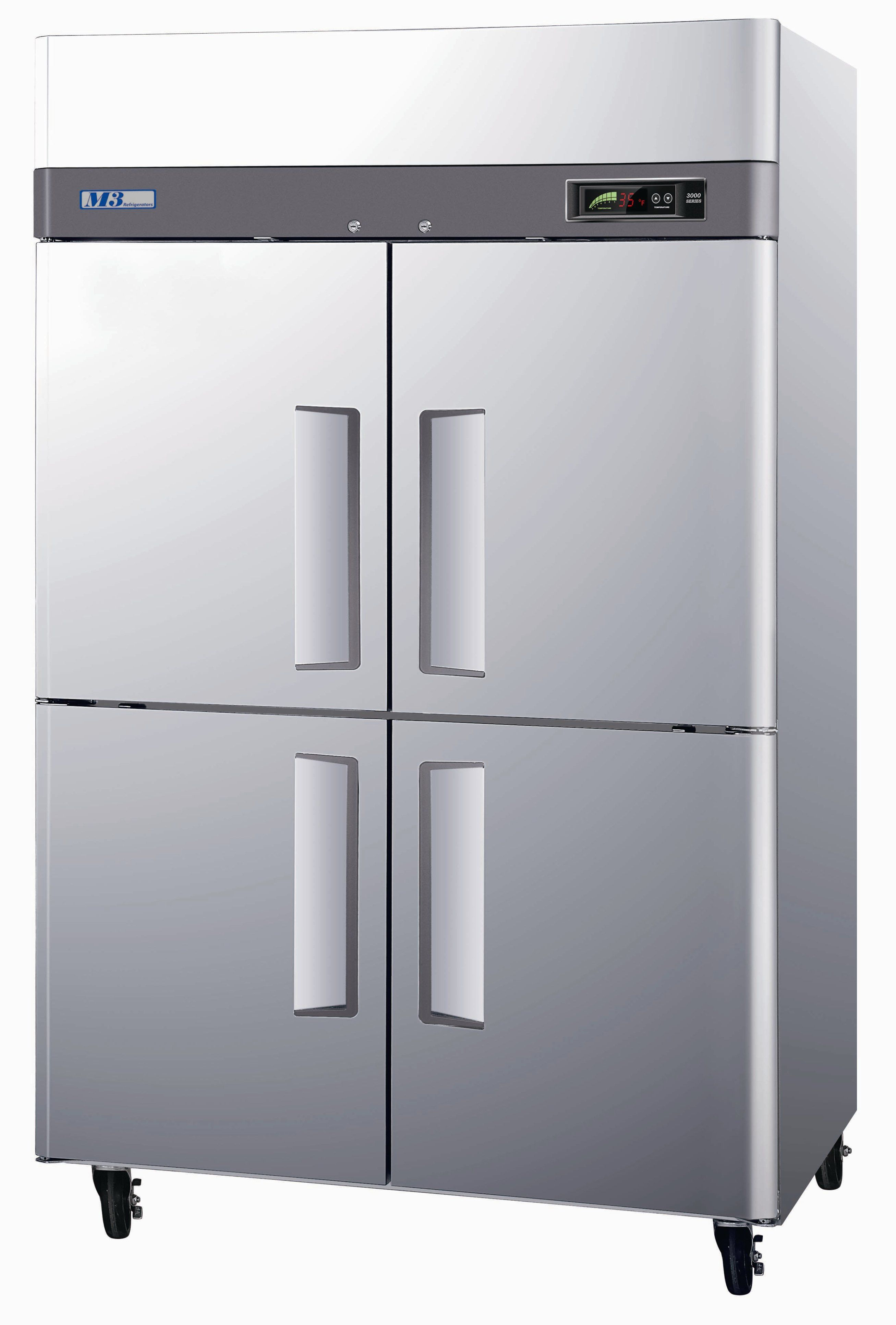 47 Cu. Ft ; 4 Doors Available for Freezer and