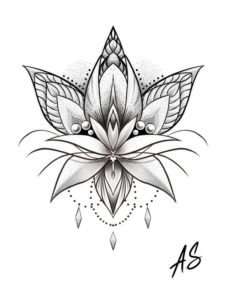 Mandala Dotwork Lotus Artwork by Adison #Tattoos #Tattoosquotes #flowerTattoos #    #cat1 #minimalisttattooideas #wolftattooideas #tattooideassimple #geometrictattoo #tattoooldschool #tattoofonts #tattoohombre #tattoos #flowertattoos #lotus #dotwork #mandala #artwork #adison #tattoosquotes