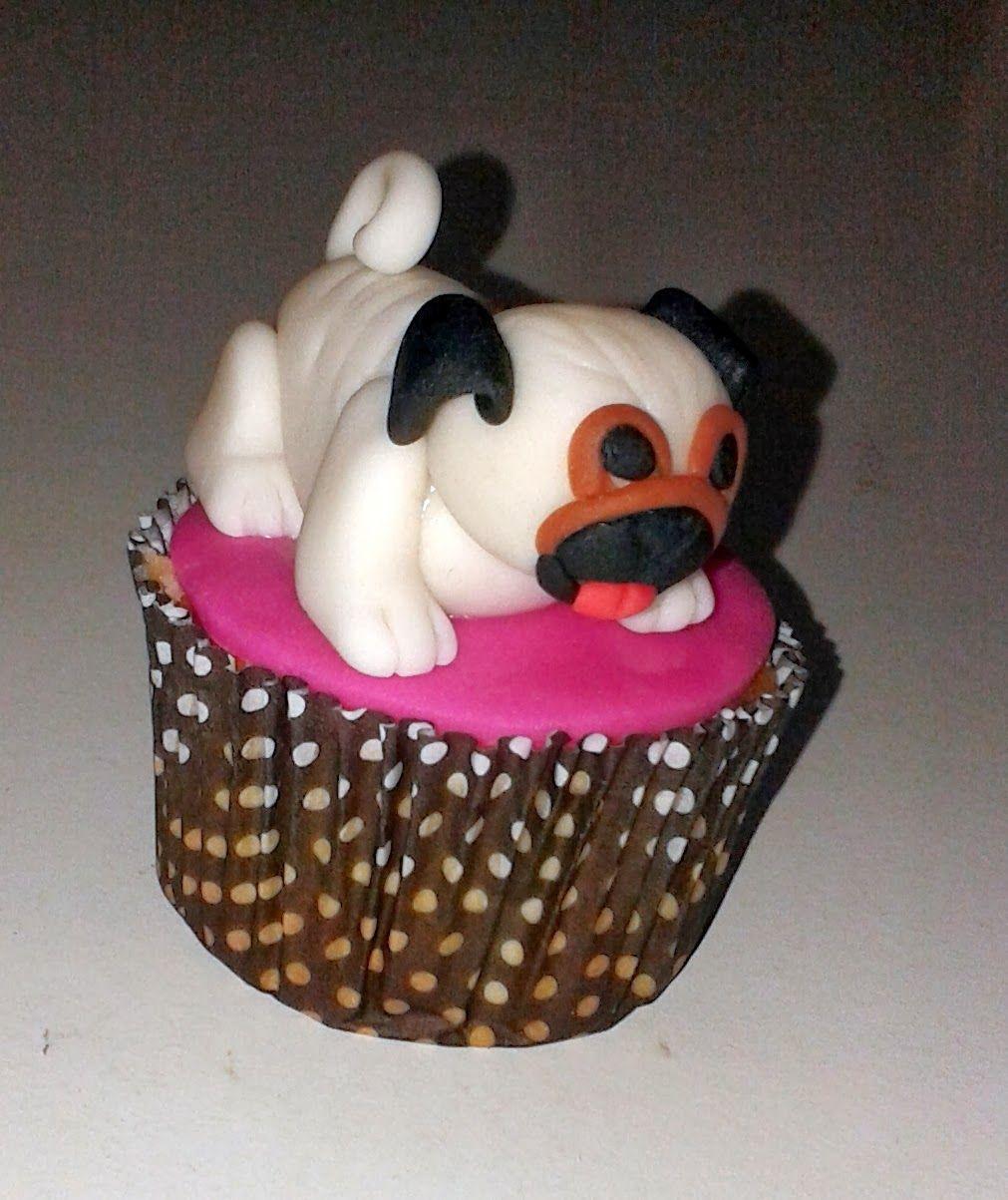 Cupcake Cachorro Pug