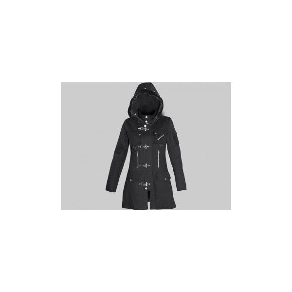 Dislocation - gothic winter jacket for women, by Queen of Darkness ($145)