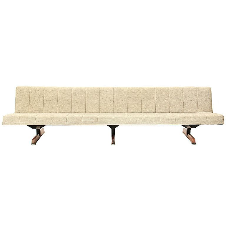 Upholstered Sofa Bench From A Unique Collection Of Antique And Modern Sofas At Http