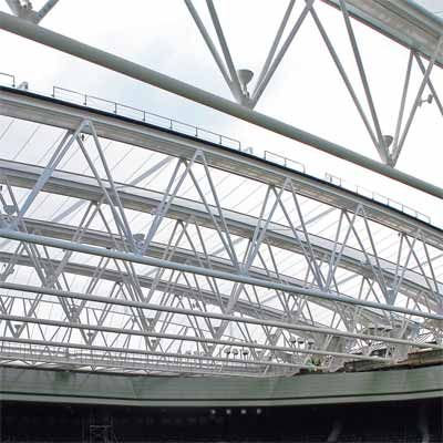 Steel Framed Buildings To Work Out Space Requirements | Estructuras ...