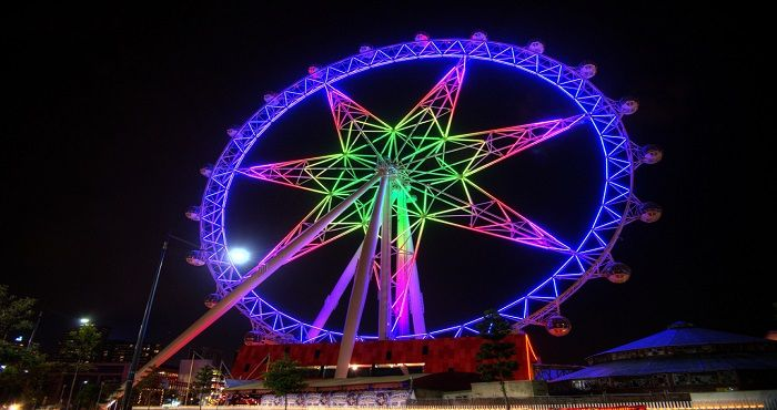 Located on the west side of Melbourne's CBD precinct in the Docklands area is the Melbourne Star Observation Wheel. The Melbourne Star Observation Wheel is available for day and night tours.