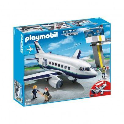 Avion et tour de contrôle réf.5261  PLAYMOBIL® 76 €