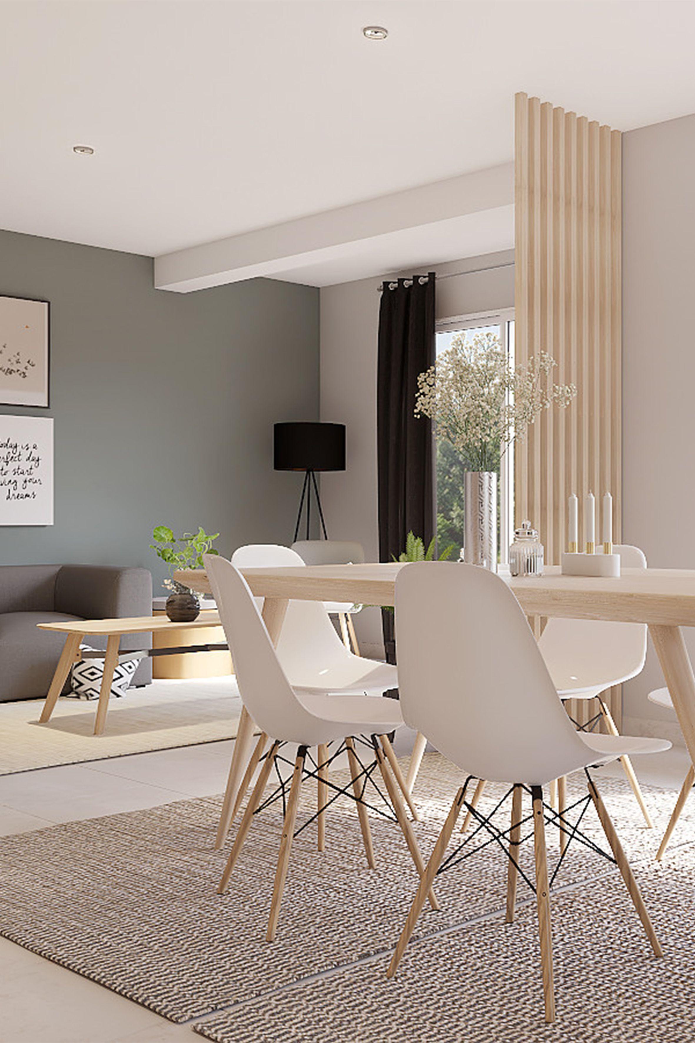 Projet 3d réalisé par marion pour le 4ème épisode de battle déco découvrez comment décorer une pièce de vie dans un style scandinave déco 3d salon