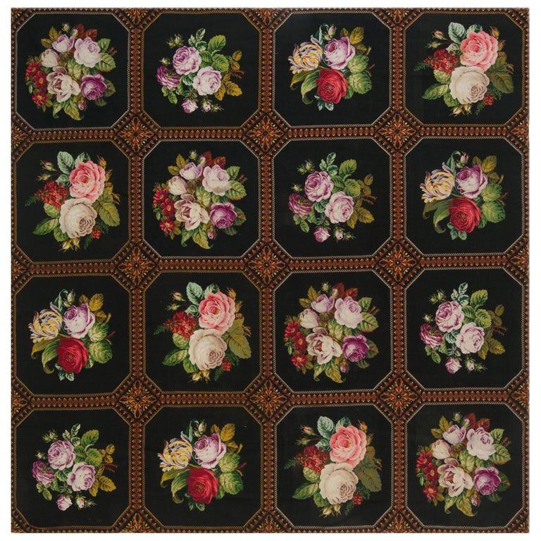Antique Needlework Rug From A Unique Collection Of Antique And Modern Western European Rugs At Https Www 1stdibs Com F With Images Needlepoint Rugs Rugs On Carpet Rugs