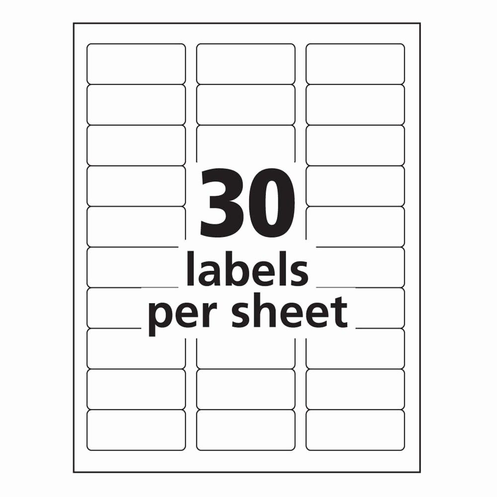 Avery Name Tag Labels Template New Avery 8160 Label Template Word Templates Data Return Address Labels Template Free Label Templates Address Label Template
