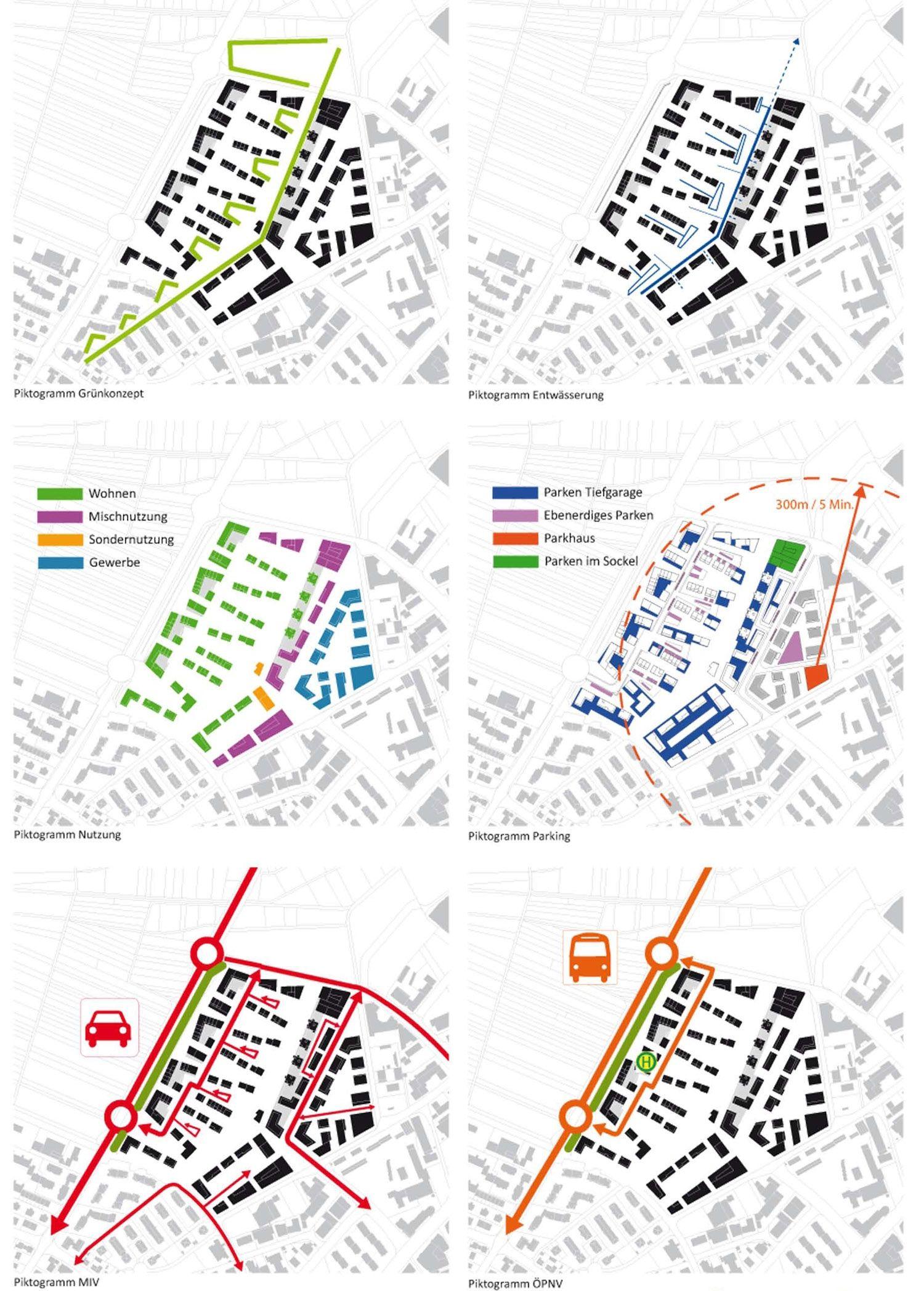 Ergebnis: Entwicklung des Baugebiets Bruhweg II...competitionline #urbanesdesign