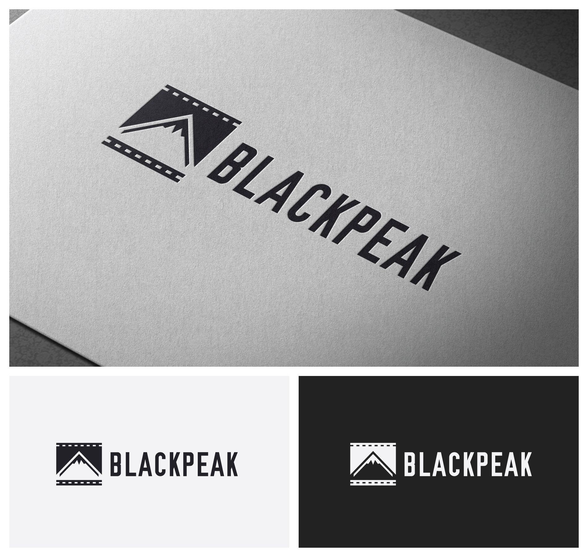 clever urban logo for a new digital film company black