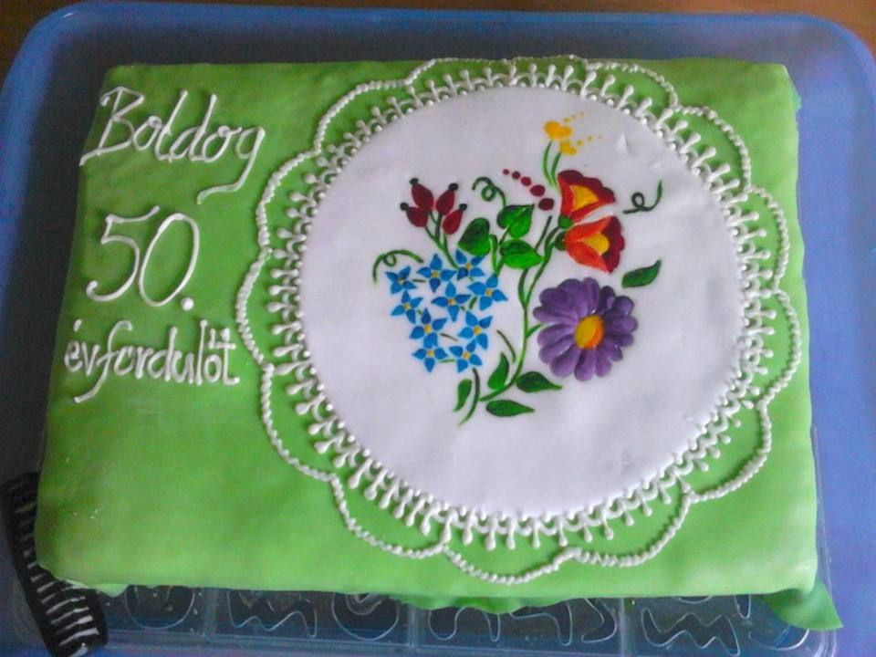 évfordulos torta