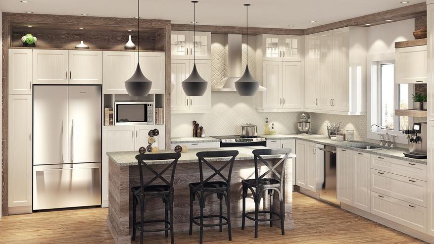 armoires de cuisine contemporain 100 mile house cuisines pinterest armoires de cuisine. Black Bedroom Furniture Sets. Home Design Ideas