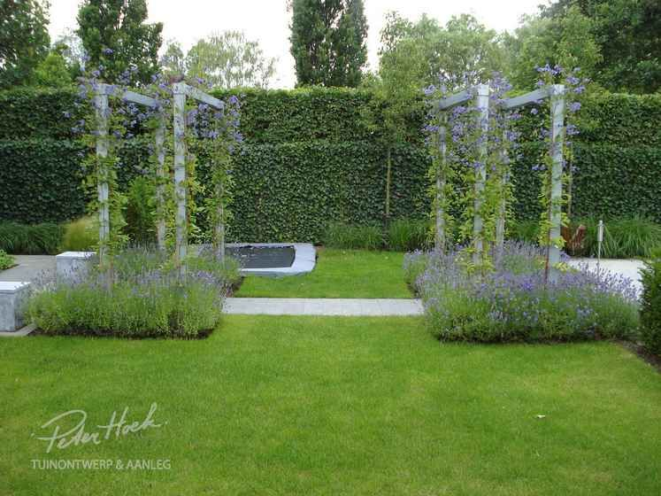 Voorbeeldtuinen modeltuin tuinvoorbeelden tuinfoto for Voorbeeldtuinen kleine tuin