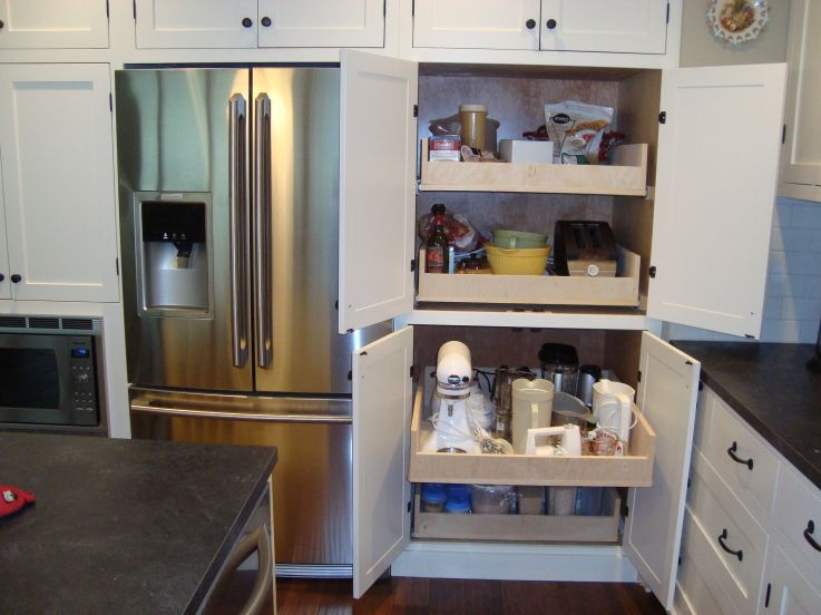Pull-out Pantry Drawers Using Kreg Jig. I Would So Love To