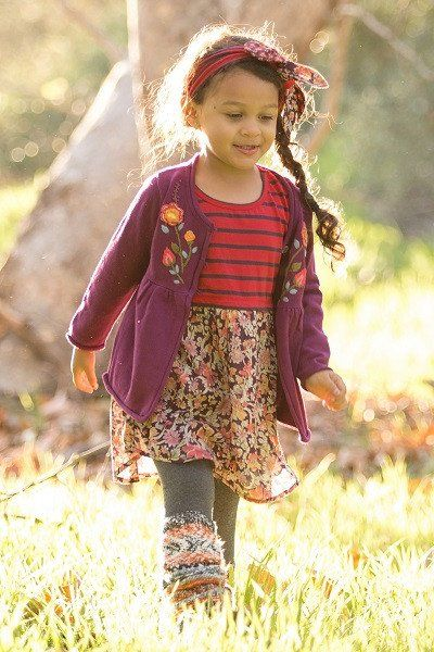 Rustic Flowers Dress (sizes 4-6X)