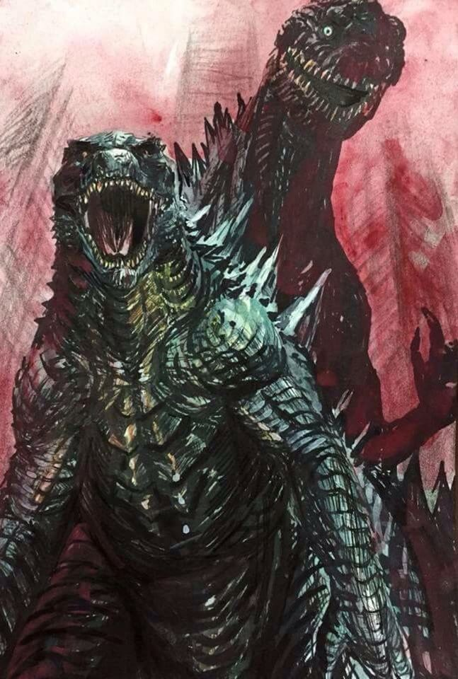 Japan's Godzilla coming back again to show that American