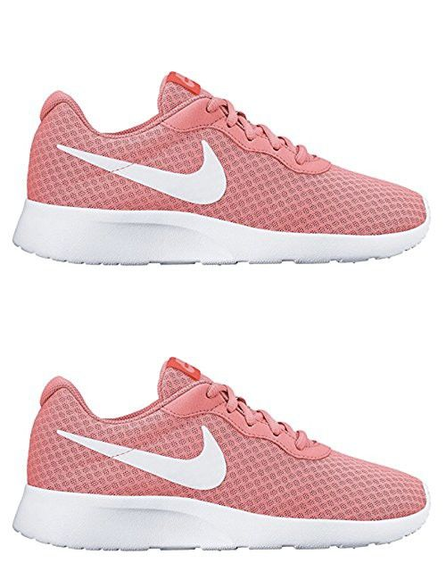 Women s Nike Tanjun Shoe Lava Glow White Total Crimson Size 7.5 M US ... 264c4bad7