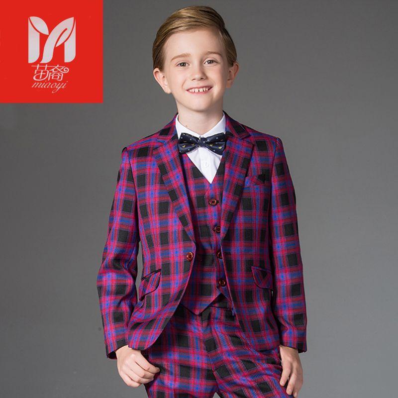 32e28e9087e4 children s leisure clothing sets kids baby boy suits Blazers Dress ...