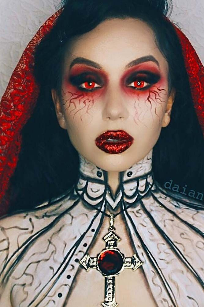 Vampire Makeup Youtube: 27 Glam And Sexy Vampire Makeup Ideas 2019