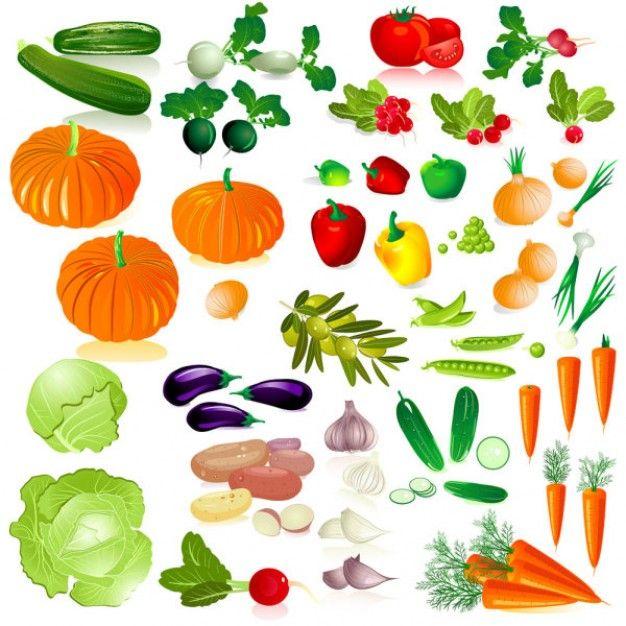 Dibujos de frutas y verduras a color  Imagui  dibujates