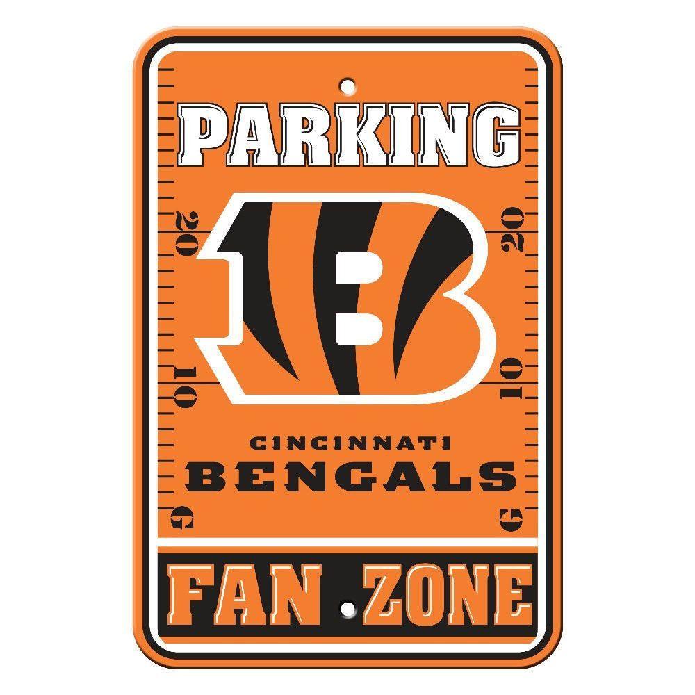 """Cincinnati Bengals Parking Sign - 12"""" x 18"""""""