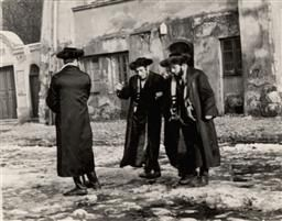 After morning services on the Sabbath, Kazimierz, Kracow. Jewish Life in Eastern Europe, ca. 1935-38 | Roman Vishniac Archive