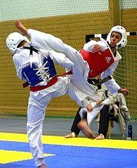 Me gusta mucho hacer taekwondo porque me divierto y me lo paso muy bien. Quedé 4º en el campeonato de Cataluña