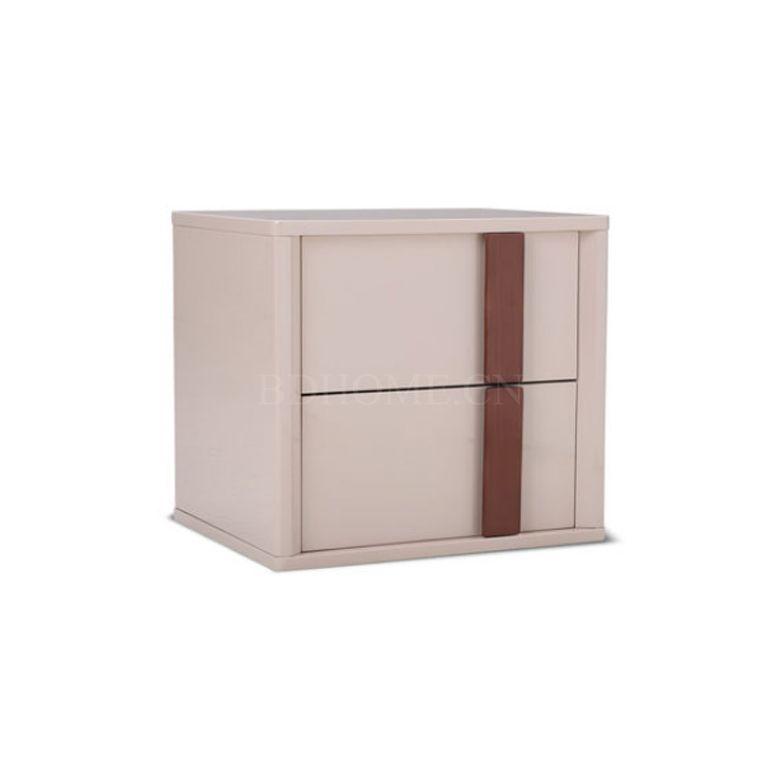床头柜 板材 PT1607G-1 W500*D400*H450 mm