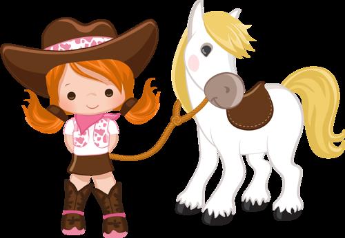 Cowboy E Cowgirl Desenhos De Pascoa Desenhos De Animais Fofos