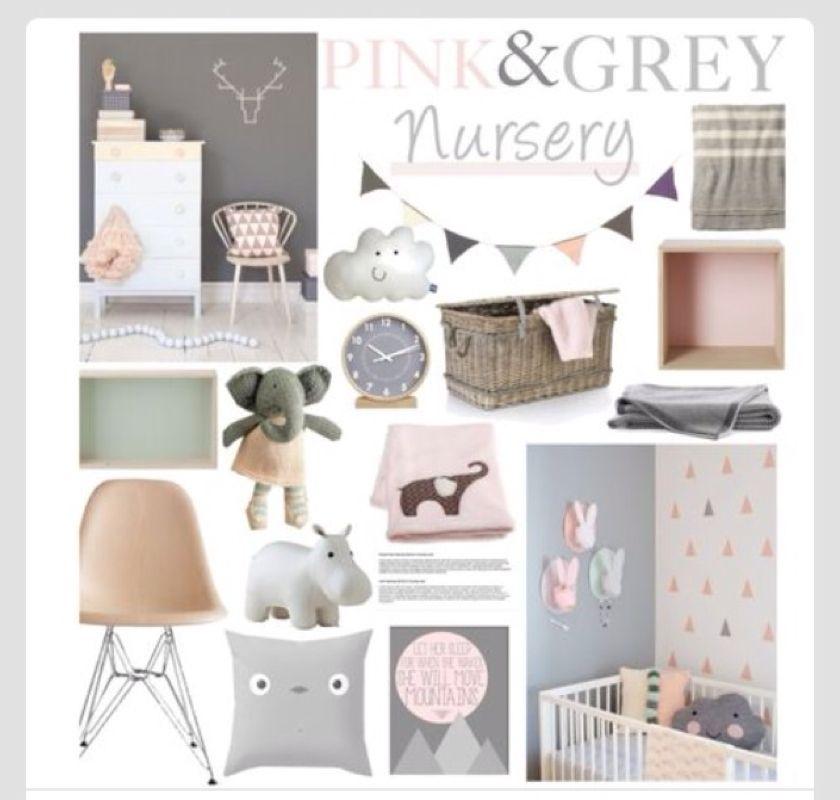 Baby Nursery Ideas Pink Grey