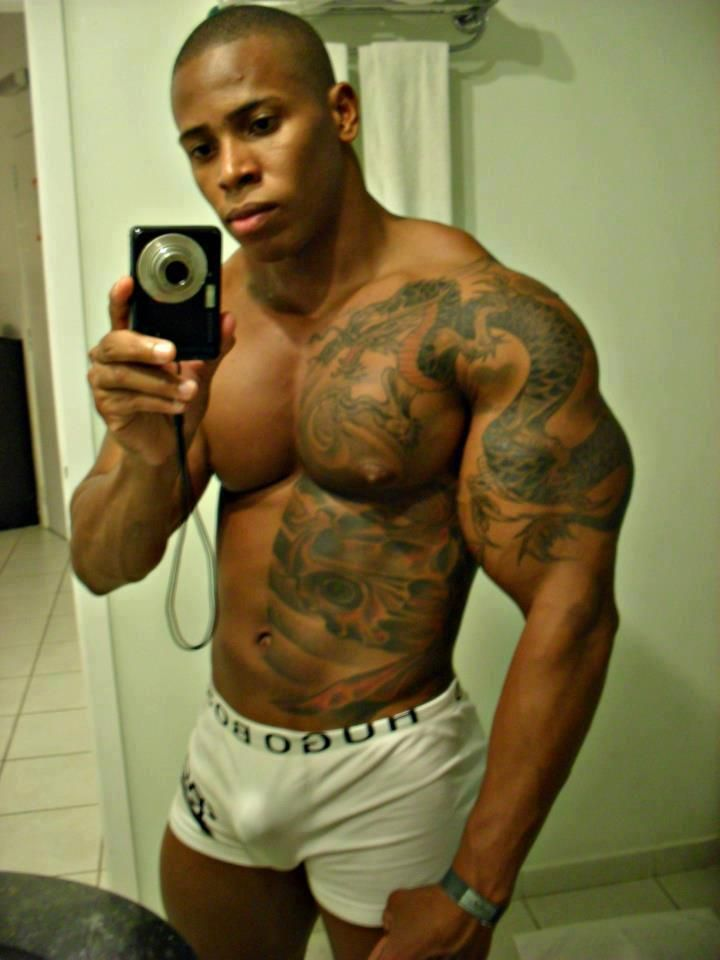 Tattoos Muscle Huge Hot Sexy Men Selfies