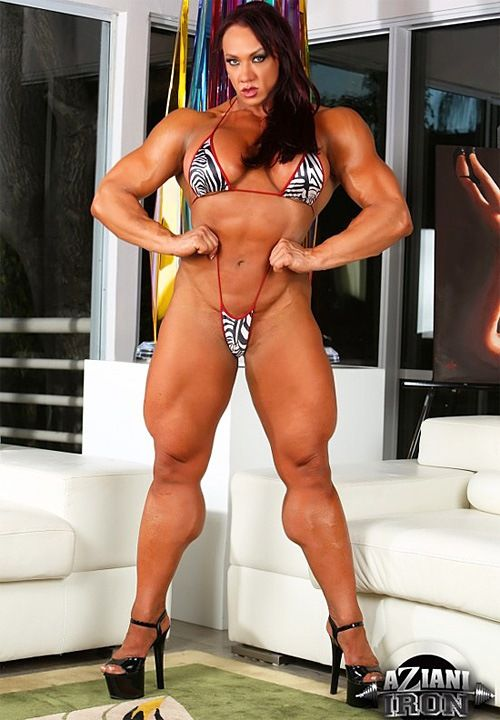 Amber Deluca Female Bodybuilder  Chicas En Bikini -2454