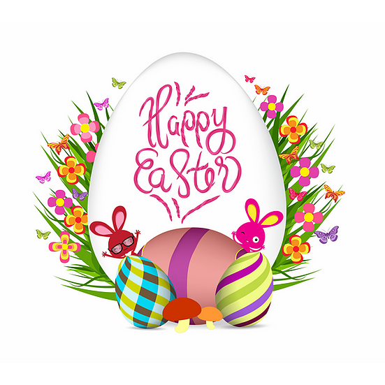 Happy Easter Beautiful Greeting Card Easter Png Image Instant Download Upcrafts Design In 2021 Happy Easter Bunny Poster Beautiful Greeting Cards
