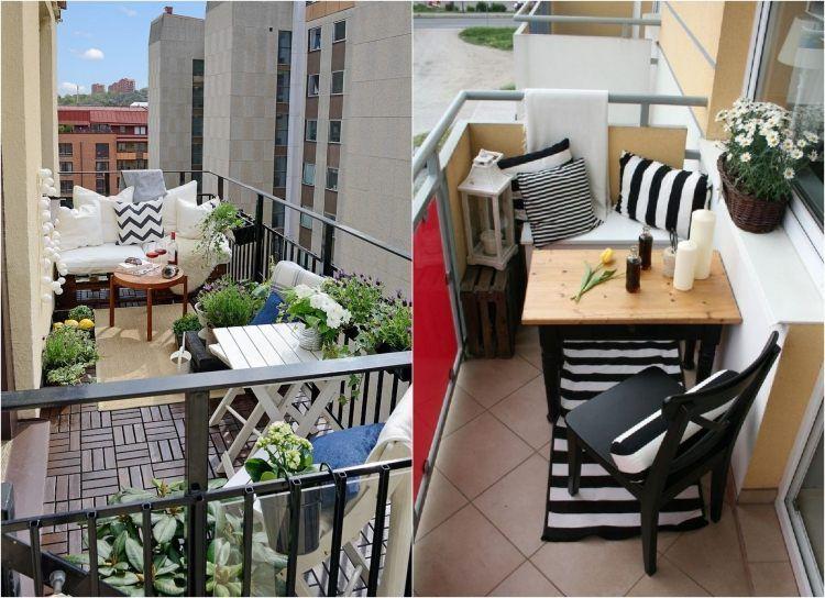 Sitzecke Auf Dem Balkon Gemütlich Einrichten | Balcony | Pinterest Tipps Balkongestaltung Dekorieren