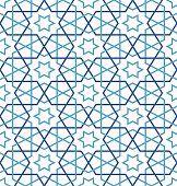 verheddert muster auf traditionelle arabische