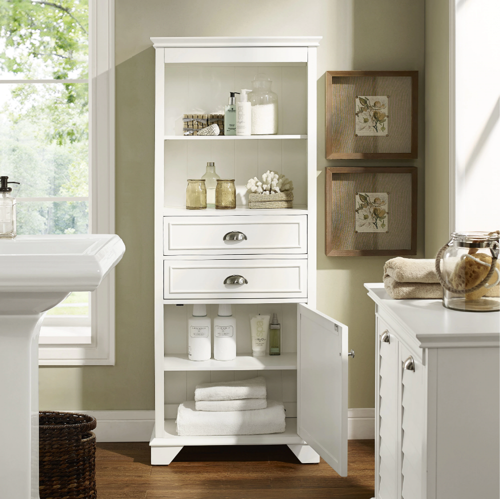 Overstock Com Online Shopping Bedding Furniture Electronics Jewelry Clothing More In 2021 Bathroom Storage Cabinet Tall Bathroom Storage Bathroom Tall Cabinet [ 999 x 1000 Pixel ]