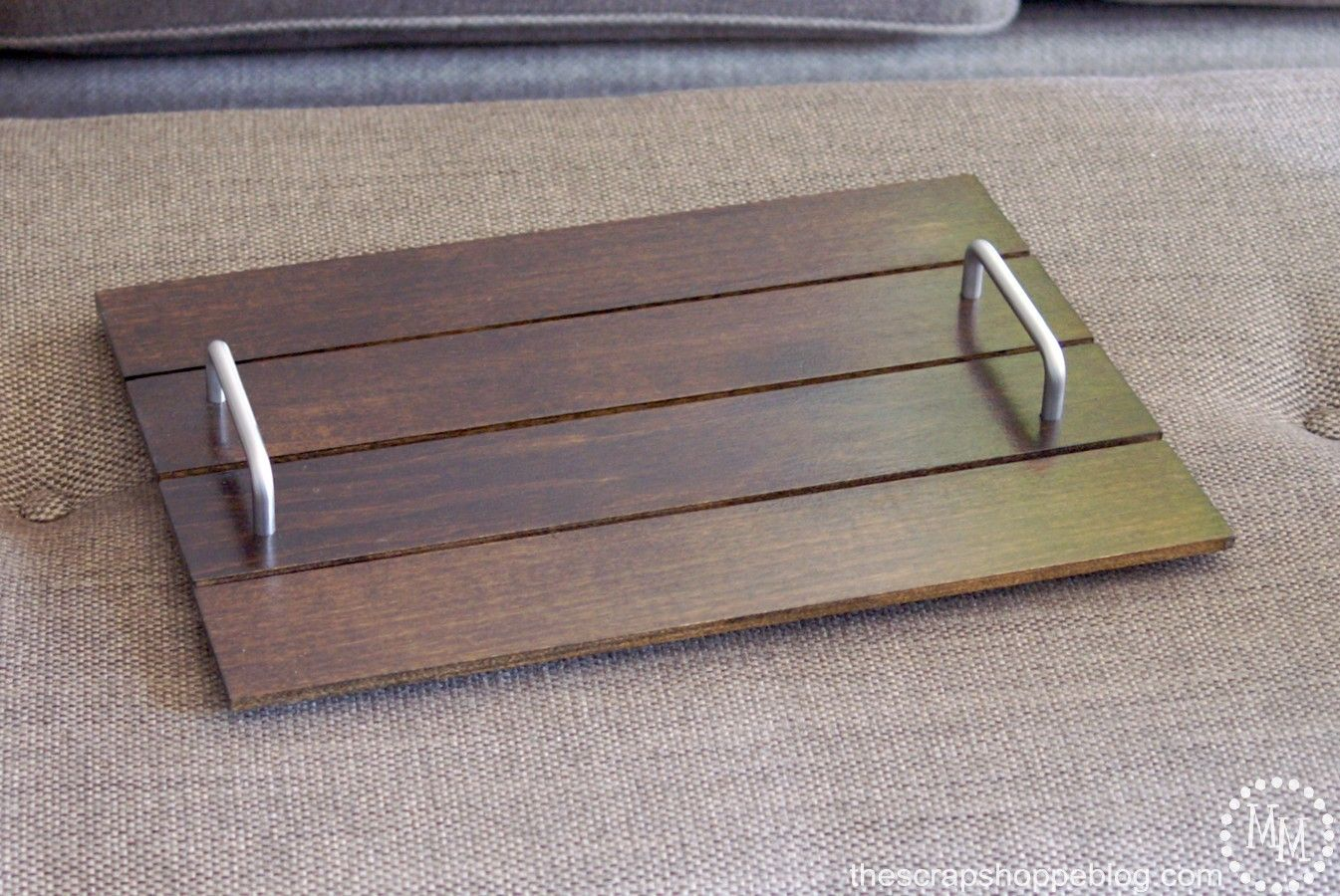 Simple DIY Serving Tray - The Scrap Shoppe
