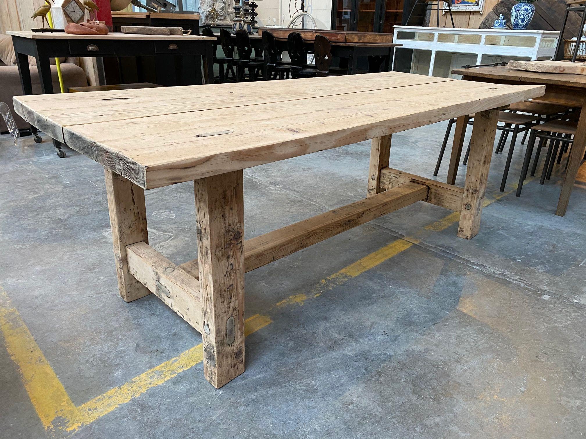 Entièrement restaurée Très jolie patine   Table de ferme, Table ...