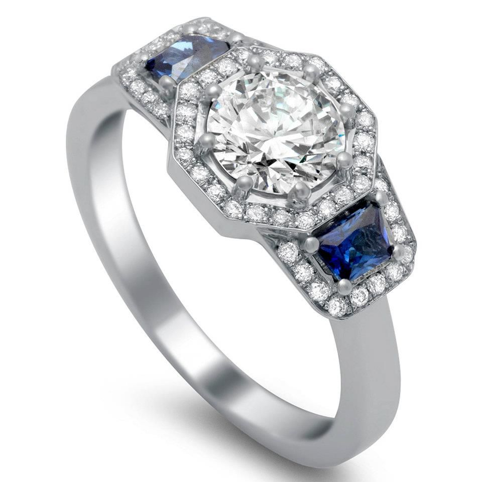 Timeless Designs Diamond Engagement Ring available at Houston Jewelry!